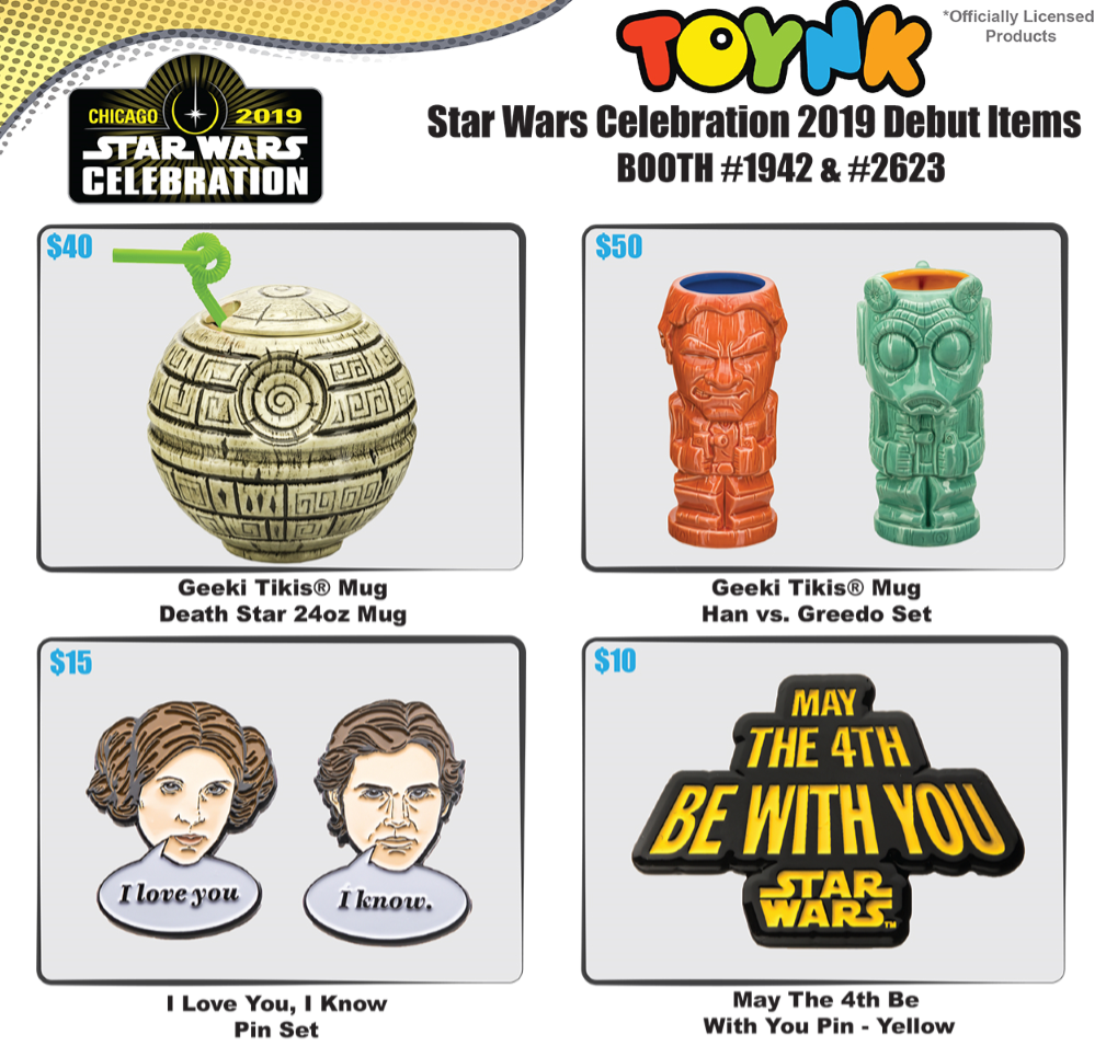star wars celebration 2019 Toynk Toys