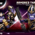 Armored Thanos Egg Attack PREVIEWS figure