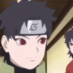 Mirai and Kurenai in Boruto anime 106 S-Rank Mission Steam Ninja Scrolls