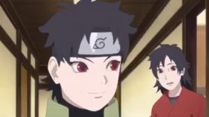 Mirai and Kurenai in Boruto anime 106 S-Rank Mission Steam Ninja Scrolls