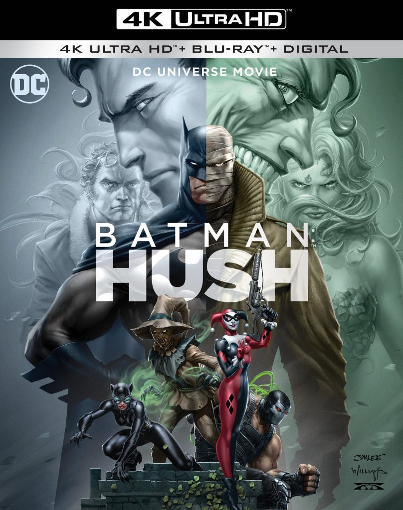 Batman Hush 4K UHD, Blu-ray, Digital Release