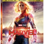 Captain Marvel Blu-ray DVD release