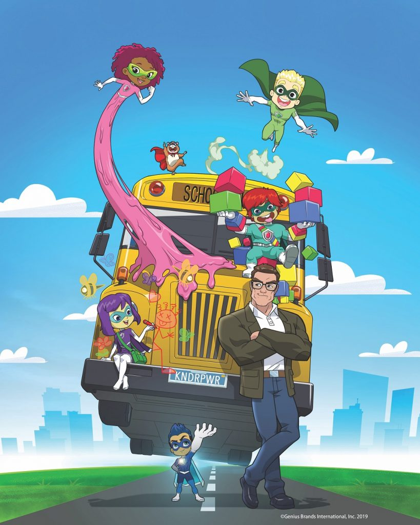 superhero kindergarten tv show animated
