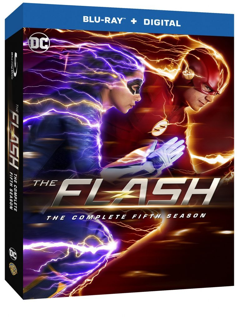 the flash season five blu-ray dvd