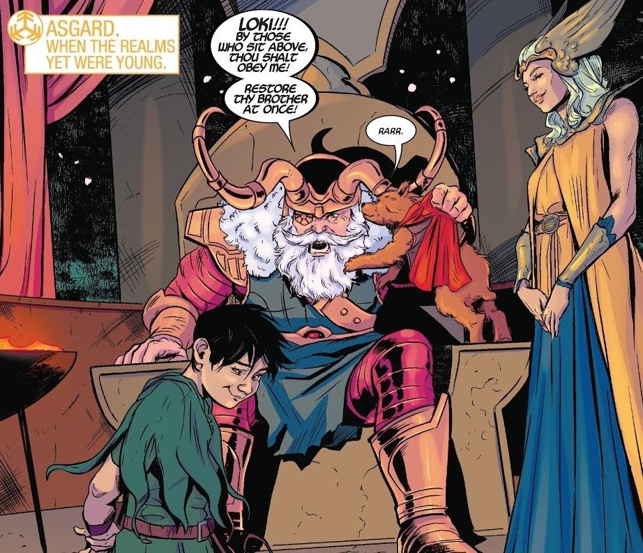 Kid Loki in War Scrolls Issue 2 My Drag Brunch With Loki