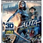 Alita Battle Angel Blu-ray 4K DVD Digital release