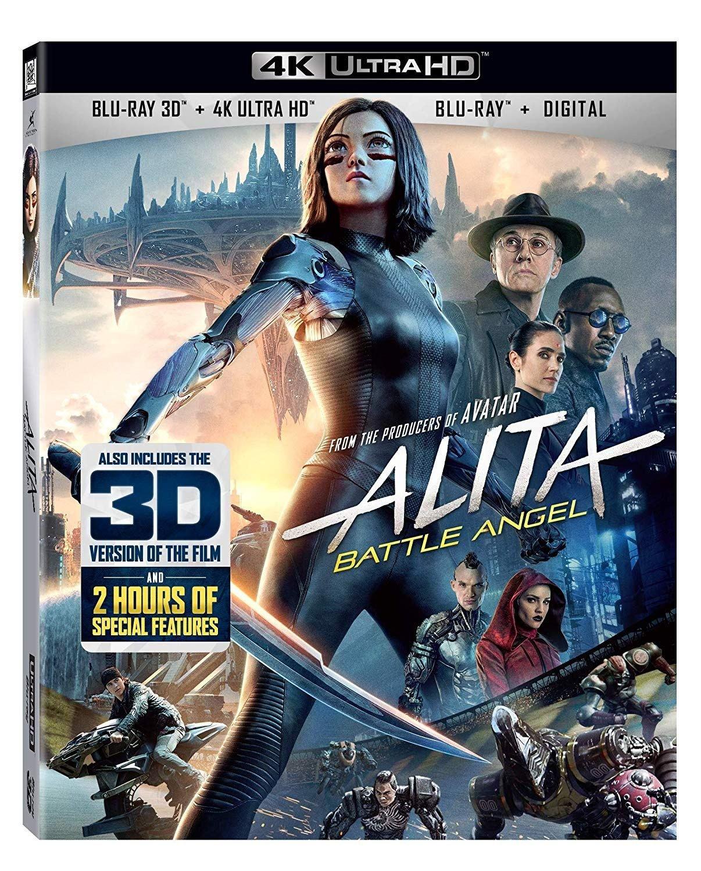 Alita Battle Angel Blu-ray 4K DVD Digital release