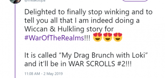 "Anthony Oliveira to Bless Us with a Wiccan & Hulkling Story in ""War of the Realms: War Scrolls"" Issue 2!"