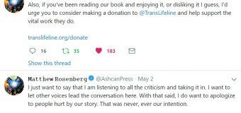 Uncanny X-Men Issue 17 Writer Matthew Rosenberg Addresses Controversy Regarding Trans Panic Violence