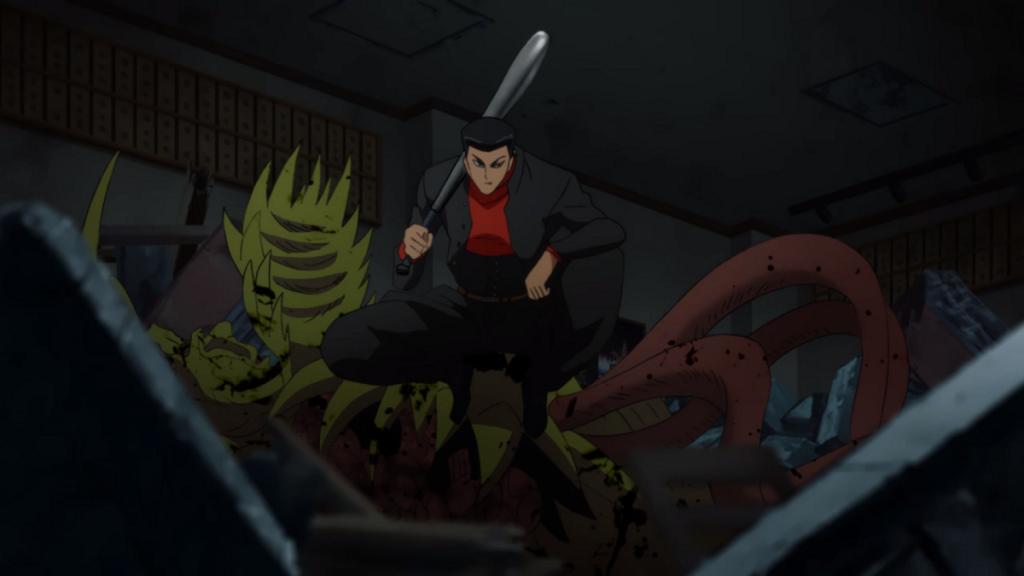 The Metal Bat One Punch Man