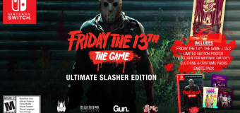 """Friday the 13th: The Game"" Ultimate Slasher Edition Coming to Nintendo Switch This August!"