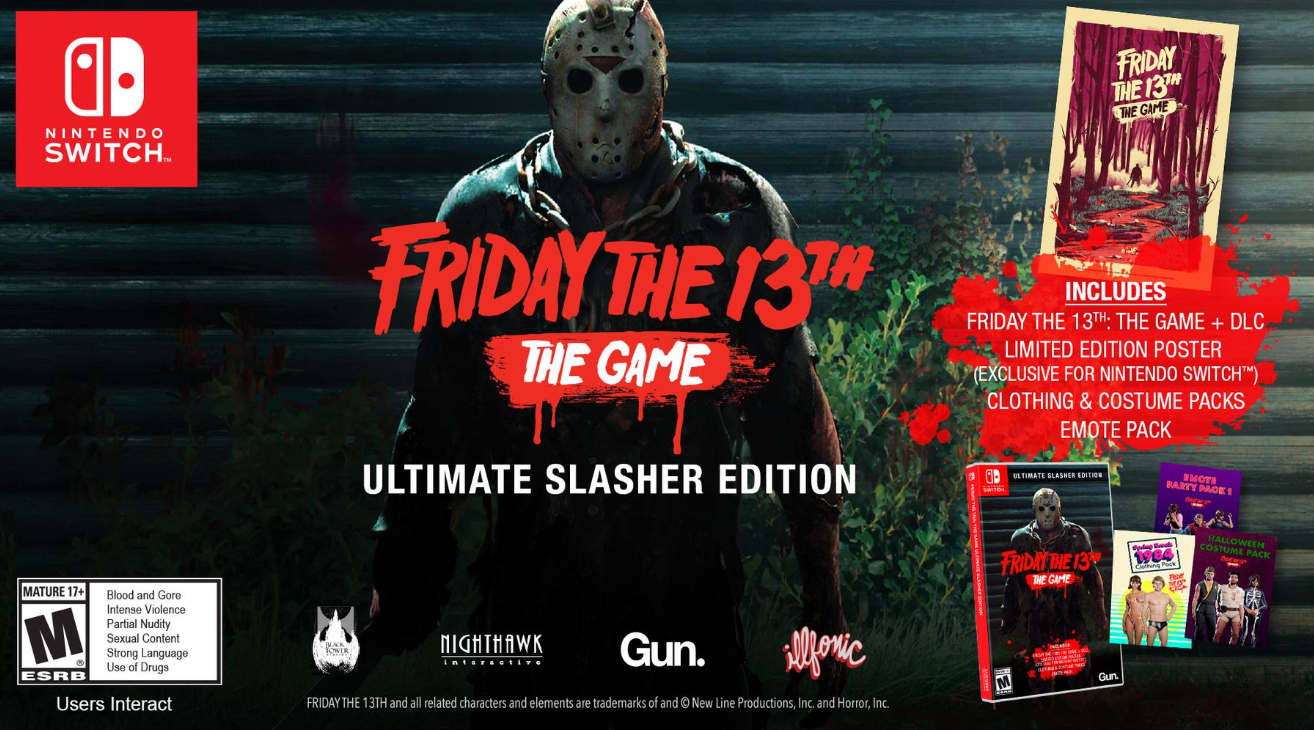 Friday the 13th The Game Ultimate Slasher Edition Nintendo Switch