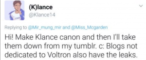 ten infamous pieces of fandom lore voltron