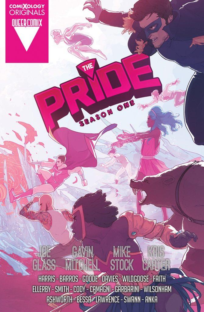 The Pride Season One comic book