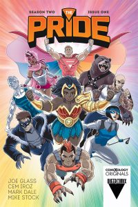 The Pride season two issue 1 cover comic book
