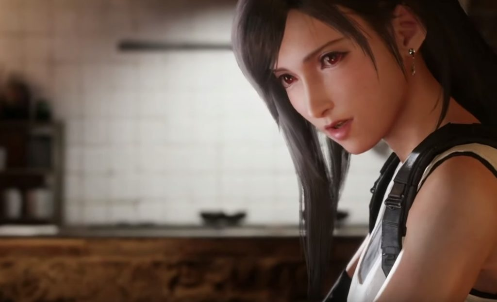 Tifa Final Fantasy 7 remake