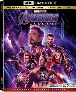 Avengers Endgame Blu-ray 4K Digital Release