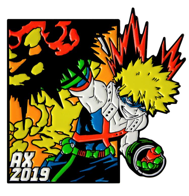 Toynk Toys Anime Expo 2019 Bakugo pin