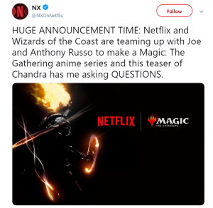 netflix magic the gathering russo brothers