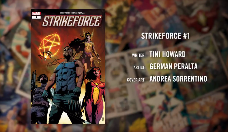 strikeforce comics marvel 2019 wiccan