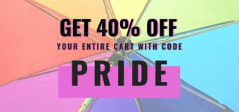 "NineStar Press 40% ""PRIDE"" Sale! Support Queer Books!"