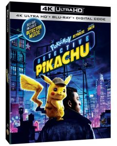 pokemon detective pikachu dvd blu-ray 4k uhd release