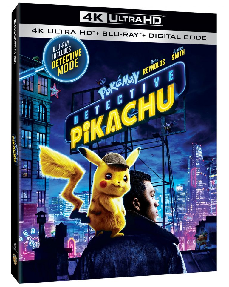 Pokemon Detective Pikachu Digital July 23 4k Blu Ray Dvd Aug 6 2019