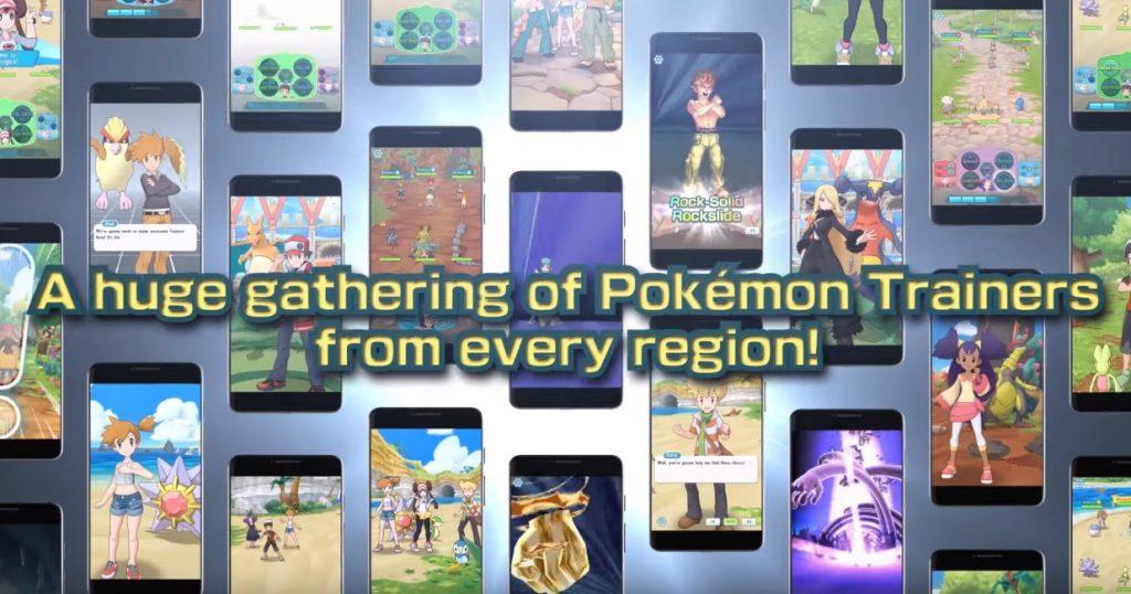 Pokemon Masters game 2019