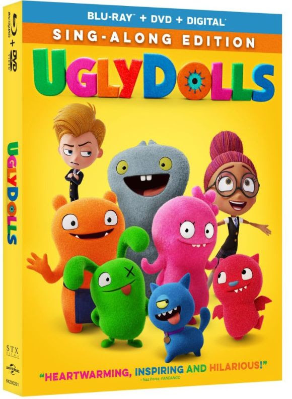 UglyDolls Digital Blu-ray DVD July release