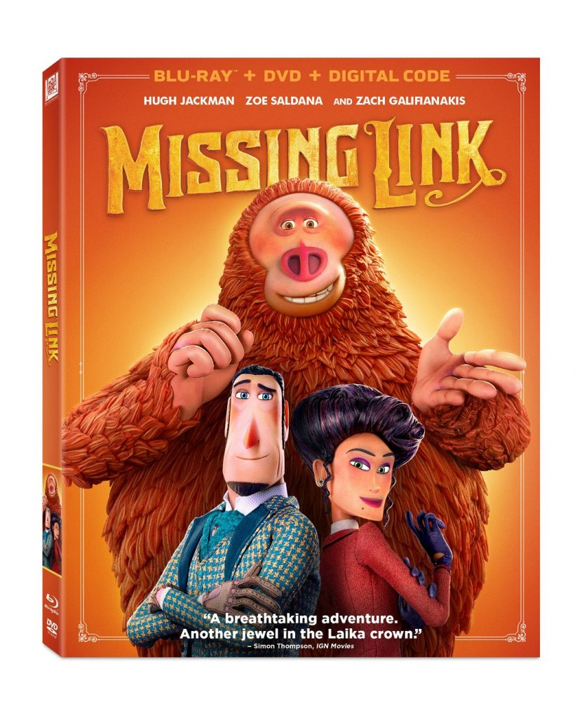missing link digital blu-ray dvd july 2019