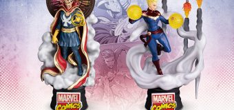 "Beast Kingdom Releasing ""Doctor Strange"" and ""Captain Marvel"" PREVIEWS Exclusive D-Stage Statues!"
