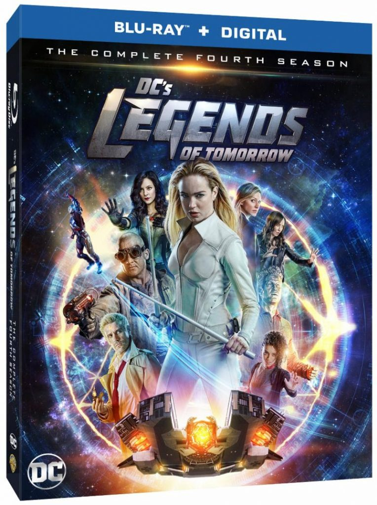 DC's Legends of Tomorrow Season 4 Blu-ray & DVD September 24