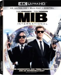 Men In Black International Blu-ray DVD Digital 4K Release
