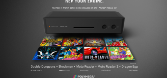 Polymega HD Modular Game Console Adds Five TG-16/PC-Engine Bonus Pack-in Titles!