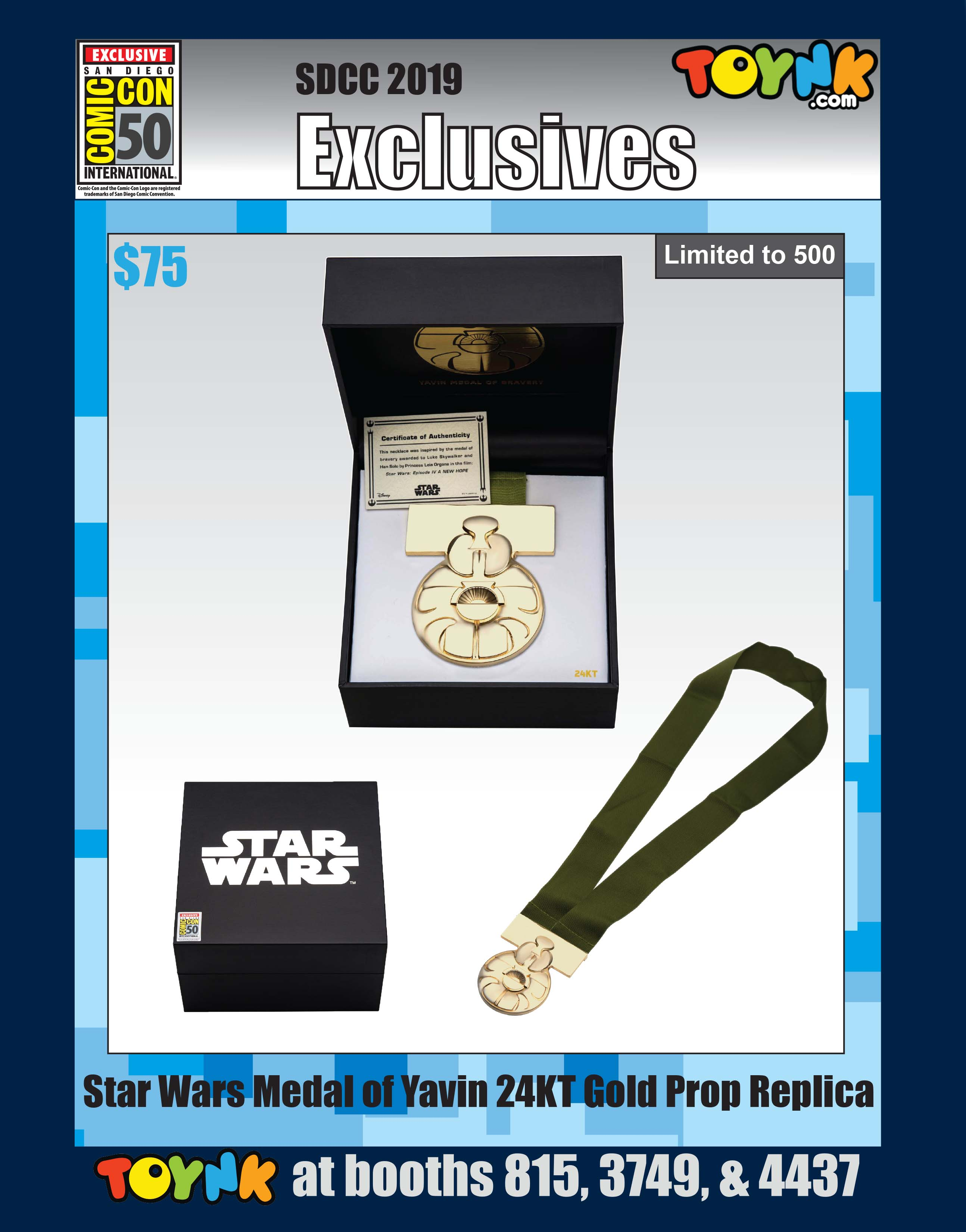 Star Wars Toynk Toys SDCC 2019
