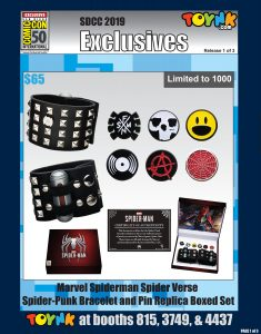 Toynk Toys SDCC 2019 Exclusive and Debut items - Wave 1
