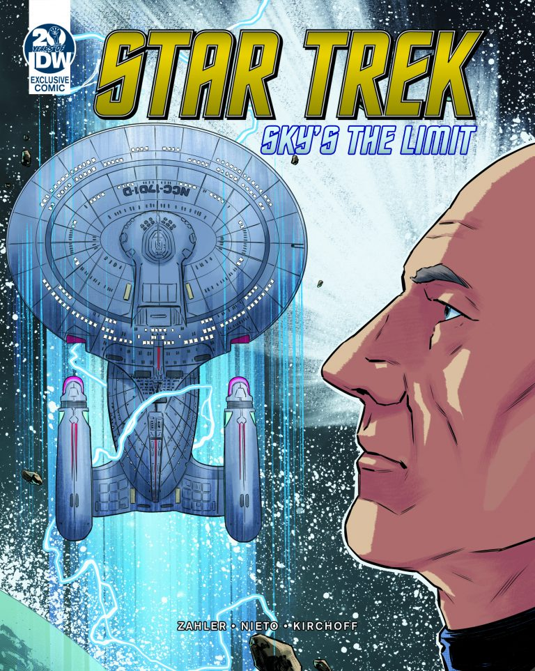 Star Trek Picard Sky's the Limit Comic