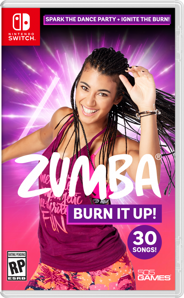 Zumba Burn it Up Nintendo Switch