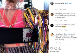 Stahelski Birds of Prey Margot Robbie queer LGBTQIA character