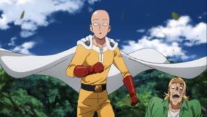 The Wiping of the Disciple's Butt One Punch Man