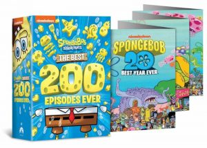spongebob squarepants DVD 20 year release
