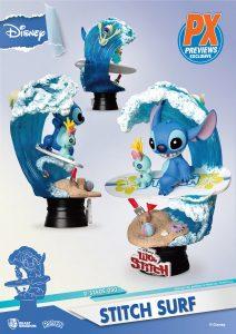 Lilo and Stitch D-stage statue