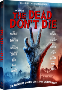 The Dead Don't Die Blu-ray DVD release