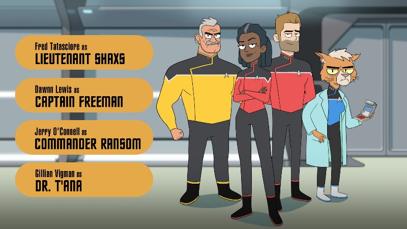 Star Trek Lower Decks SDCC 2019