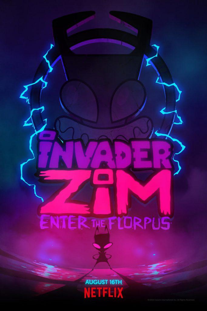 Invader Zim Enter the Florpus movie poster netflix