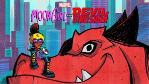 Moon Girl and Devil Dinosaur animated series