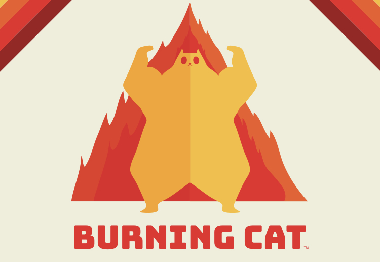 Burning Cat