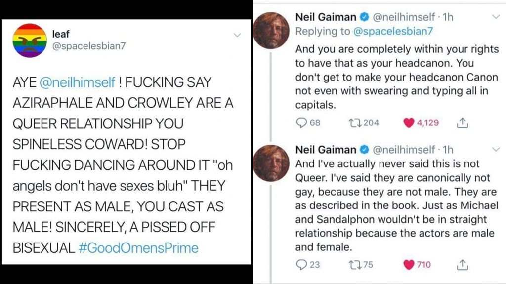 Neil Gaiman Screen Shot 1