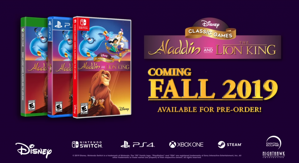 Aladdin The Lion King game Collection
