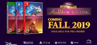 "Disney's Classic ""Aladdin"" & ""The Lion King"" Video Games Returning This October! (Pre-Order Links Updated)"